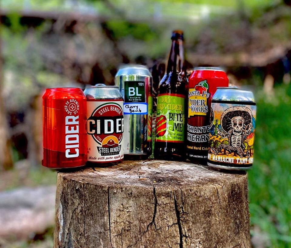 Courtesy of Gabriella Marks  Some New Mexico ciders offered as part of the Cyber Cider Social Club sampler. rmartinez@abqjournal.com Sun May 24 14:30:08 -0600 2020 1590352207 FILENAME: 1745044.jpg